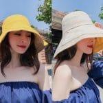 Mũ Chống nắng Nhật bản, Các kiểu nón chống nắng tia uv đẹp 22