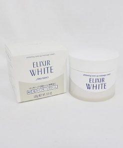 KEM MASSAGE DA MẶT SHISEIDO ELIXIR WHITE WHITENING TONE UP MASSAGE 10