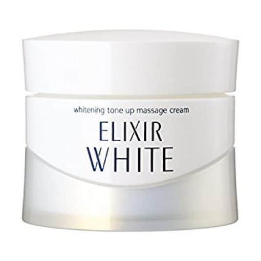 KEM MASSAGE DA MẶT SHISEIDO ELIXIR WHITE WHITENING TONE UP MASSAGE