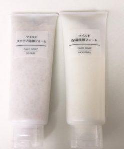 Sữa rửa mặt Muji face soap Nhật bản 8