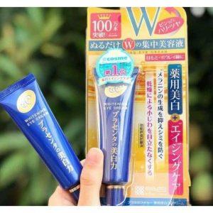 Cách sử dụng kem mắt Meishoku Nhật Bản