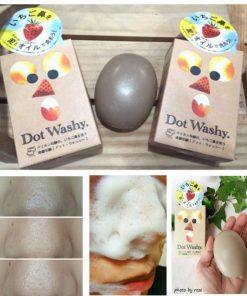 Xà phòng trị mụn đầu đen Dot Washy Facial Social Nhật Bản 12