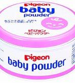 Phấn rôm Pigeon Baby Powder Nhật Bản hồng