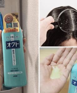 Cách sử dụng dầu gội ngăn rụng tóc Lion