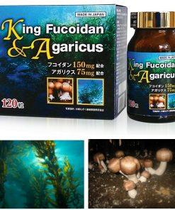 Viên uống King Fucoidan & Agaricus Nhật Bản 4