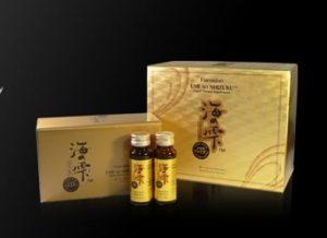 Fucoidan Umi No Shizuku nội địa Nhật hộp vàng 1