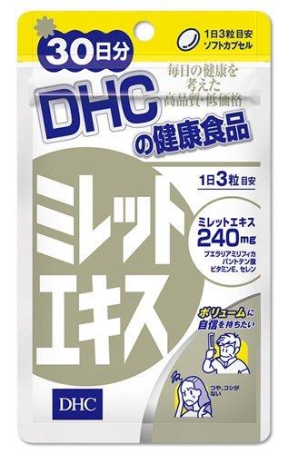 Viên uống chiết xuất hạt kê trị rụng tóc DHC Nhật Bản 1