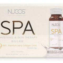 Nước uống chống lão hóa NUCOS SPA WHITENING & SKIN THERAPY