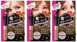 Mascara chải lông mày Isehan Kiss Me Heavy Rotation Coloring Eyebrow Nhật Bản 7