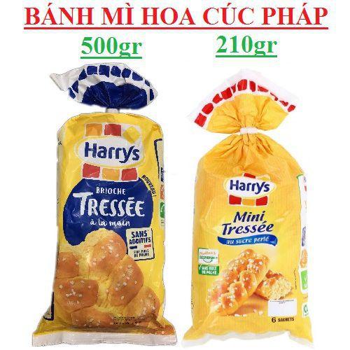 Bánh mì hoa cúc Pháp Harrys Brioche có mấy loại?