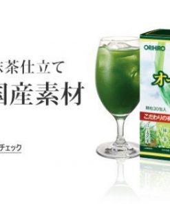 Bột rau xanh Orihiro Aojiru Nhật Bản 9