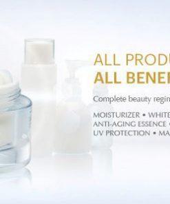 Kem dưỡng trắng Mosbeau Placenta White All-in-one Cream Nhật Bản 6
