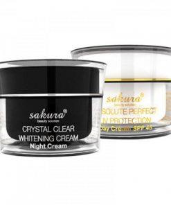 Kem đặc trị nám dưỡng trắng da ban đêm Sakura Night Cream 4