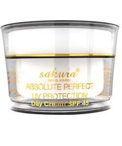 Kem trị nám dưỡng trắng da ban ngày Sakura Absolute Perfect UV Sakura Protection 7