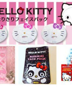 Mặt nạ dưỡng trắng da Narikiri Face Pack Hello Kitty Nhật Bản 9