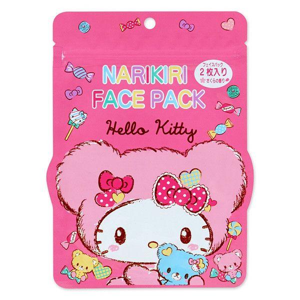 Mặt nạ dưỡng trắng da Narikiri Face Pack Hello Kitty Nhật Bản 2