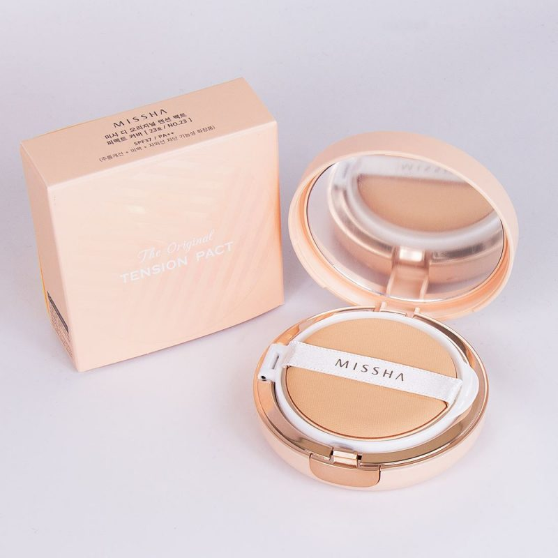 Phấn nước Missha The Original Tension Pact Tone Up Glow Hàn Quốc 4