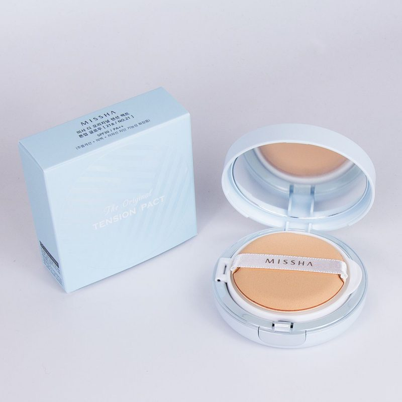 Phấn nước Missha The Original Tension Pact Tone Up Glow Hàn Quốc 3