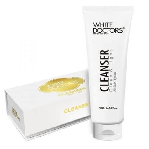 Sữa rửa mặt trắng sáng da White Doctors Cleanser Clean Light Mỹ