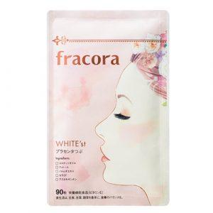 Viên uống nhau thai Fracora White Placenta Nhật Bản