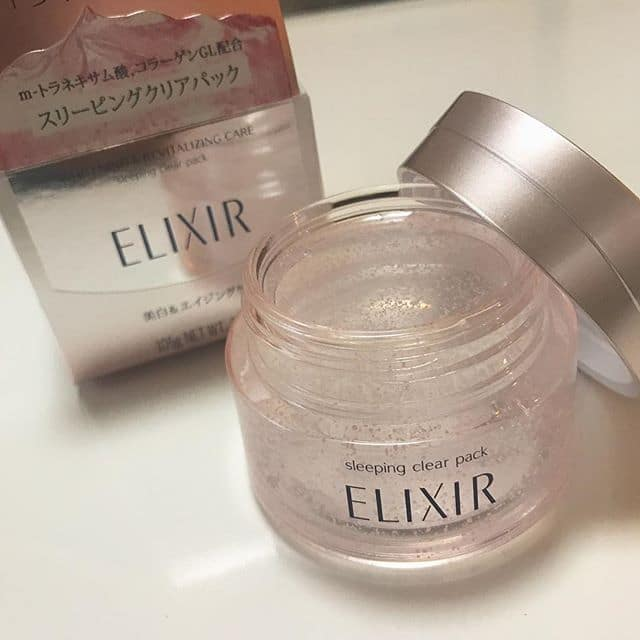 Mặt nạ ngủ SHISEIDO Elixir Revitalizing Care Sleeping Gel Pack