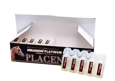 Nước uống nhau thai Ngựa Melsmon Nhật, Nhau thai Ngựa Melsmon Plcacenta. 1