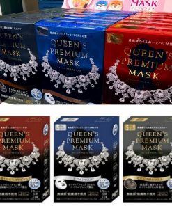 Mặt nạ Queen's Premium Mask Quality 1st Nhật 10