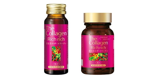 Shiseido The Collagen Rich Rich Drink 50ml X 10 Lọ