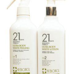 Tắm trắng 21 days Hàn quốc Perfect Body White Peeling