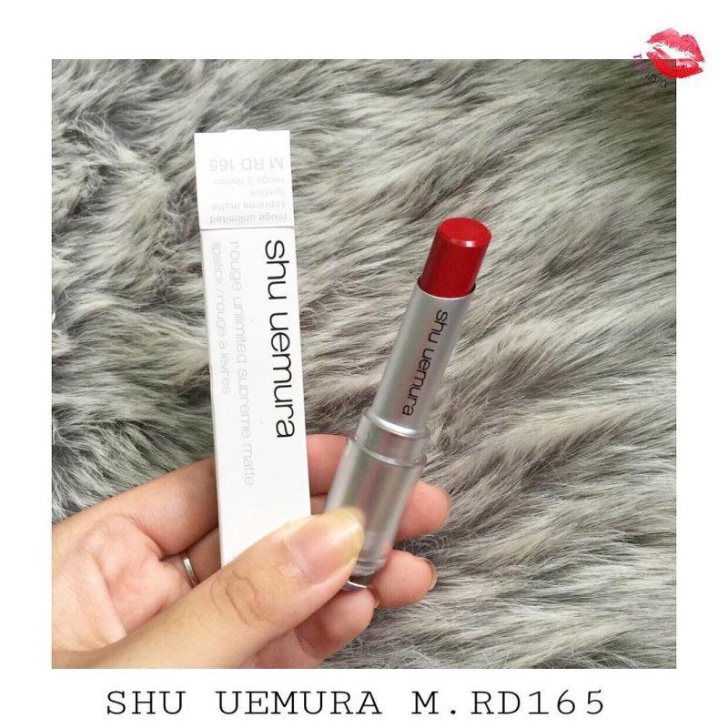 Review Son shu RD 165 (Màu đỏ tươi) 1