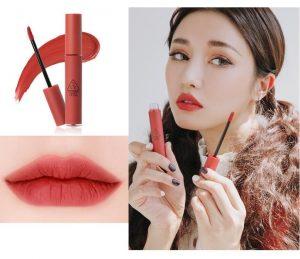 - 3CE Velvet Lip Tint Daffodil màu đỏ đất