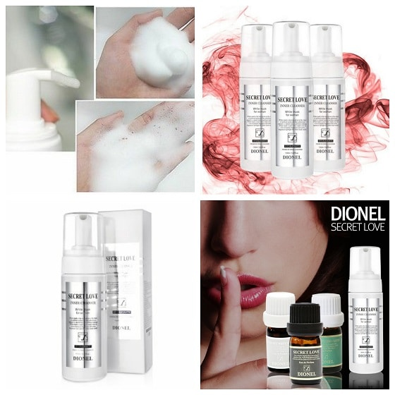 Dung dịch vệ sinh Phụ nữ DIONEL SECRET LOVE INNER CLEANSER