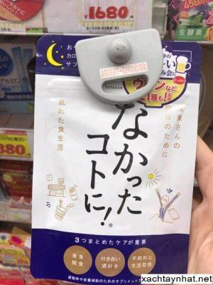 Viên uống Enzyme giảm cân đêm Nhật Bản Calorie Balance Supplement 2