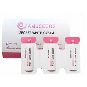 Amusecos Secret White Cream Rose Oil Se khít và hồng vùng kín 4