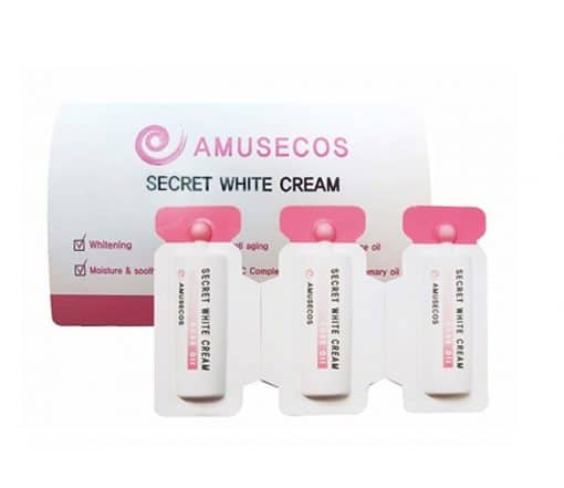 Kem Amusecos Secret White Cream Rose Oil vùng kín 3