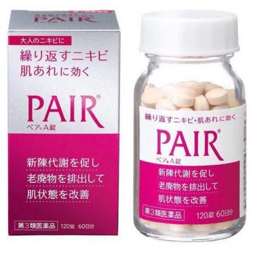 Thuốc trị mụn Pair, viên uống trị mụn trứng cá Pair Nhật Bản 3