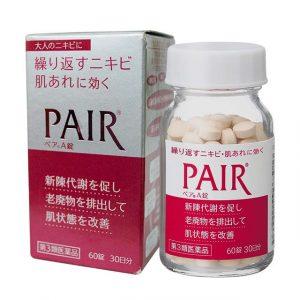 Thuốc trị mụn Pair, viên uống trị mụn trứng cá Pair Nhật Bản 2
