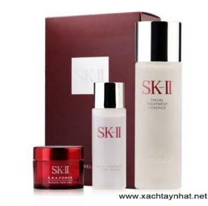 Bộ 3 sk ii mini xài thử, set kit 3 món skii sample
