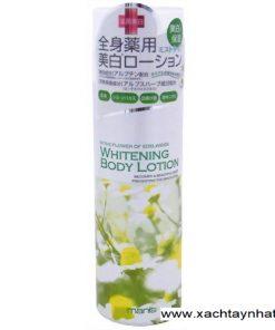 Dưỡng thể Whitening body lotion Manis Nhật Bản 6