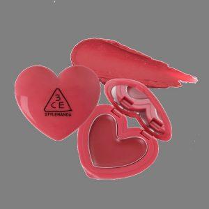 Son dưỡng 3ce Hàn quốc Stylenanda Heart Pot Lip 1