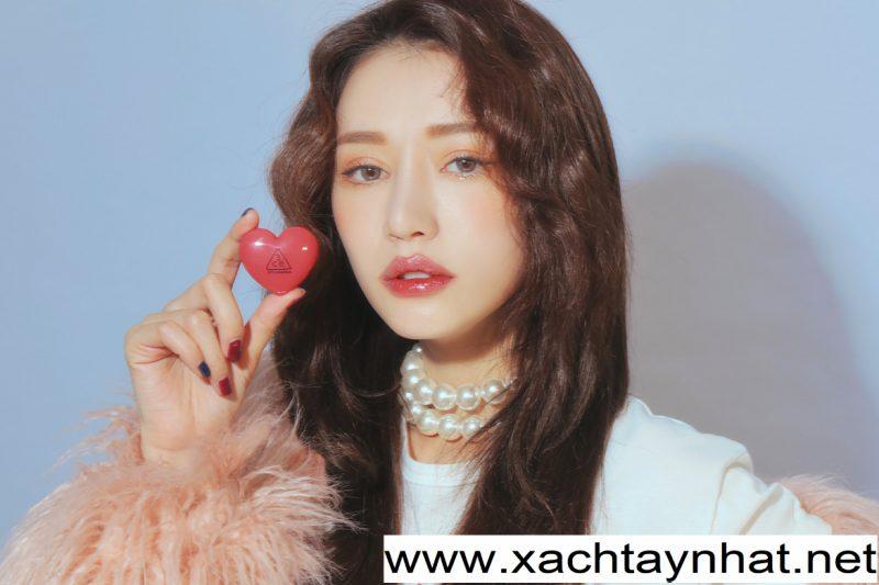 Son dưỡng 3ce Hàn quốc Stylenanda Heart Pot Lip