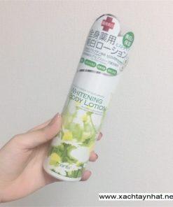 Dưỡng thể Whitening body lotion Manis Nhật Bản 5