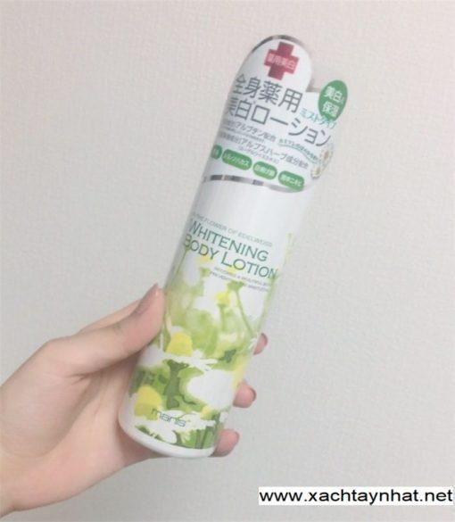 Dưỡng thể Whitening body lotion Manis Nhật Bản 3