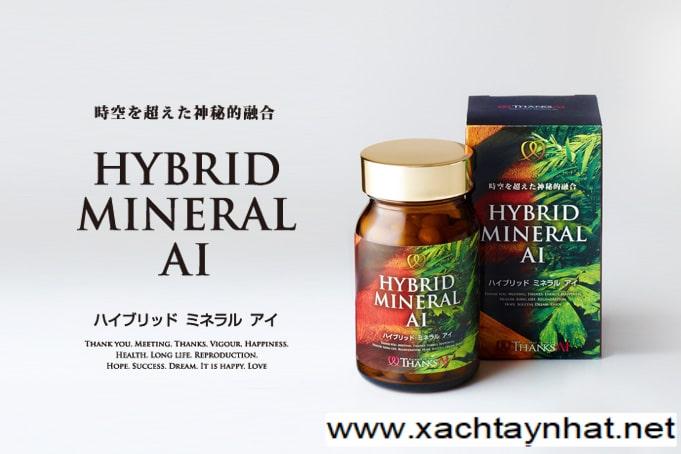 Viên uống bổ xung khoáng chất Hybrid mineral Ai Nhật Bản