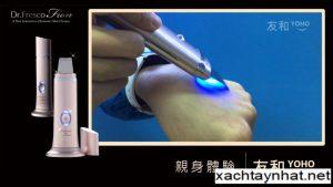 Máy chăm sóc da mặt Dr. Fresco fion Nhật bản