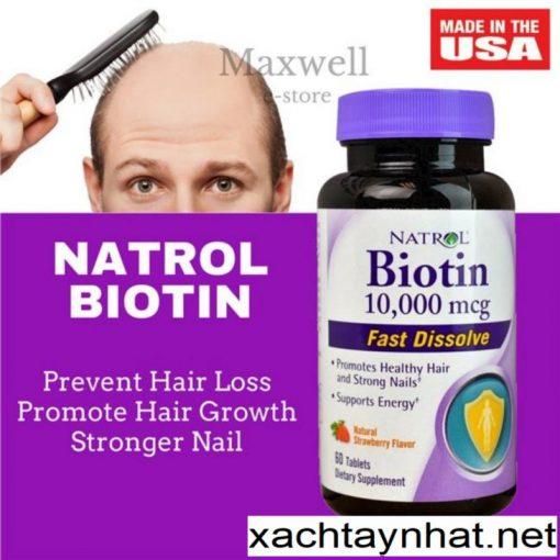 Thuốc mọc tóc,chống rụng tóc Biotin Mỹ 2