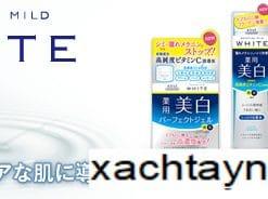 Bộ dưỡng da Kose White Moisture Mild Nhật Bản 10