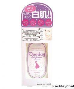 Lotion dưỡng da,trang điểm Oneday Brightener Premium Nhật Bản