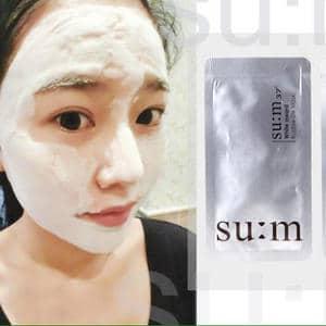 mặt nạ hút chì Su:m Hàn Quốc 2ml hiệu quả nhất: