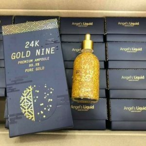 tinh chat vang 24K Gold Nine premium ampoule 99,9% pure gold Hàn